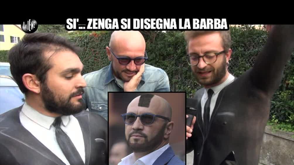 CORTI e ONNIS: Zenga si disegna la barba?
