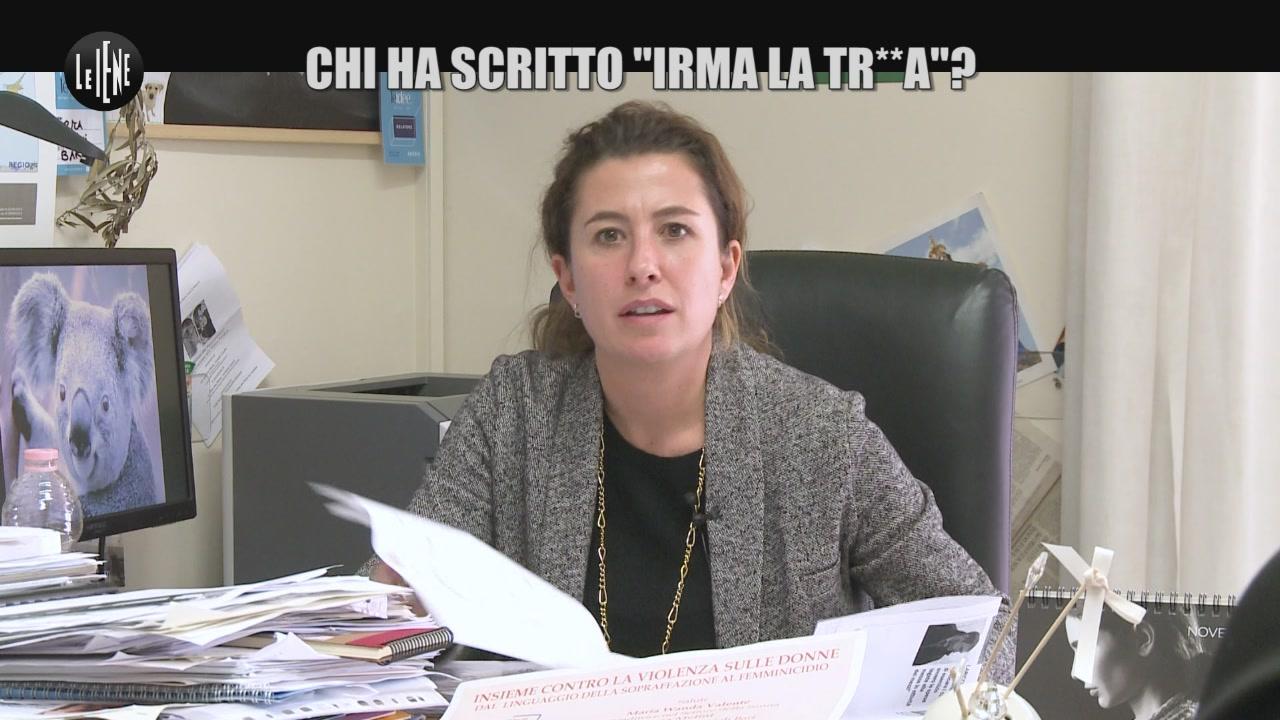 """CORDARO: Chi ha scritto """"Irma la tr**a""""?"""
