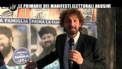 ROMA: Le primarie dei manifesti elettorali abusivi