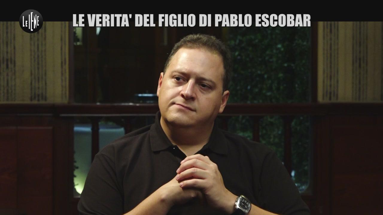 INTERVISTA: Le verità del figlio di Pablo Escobar