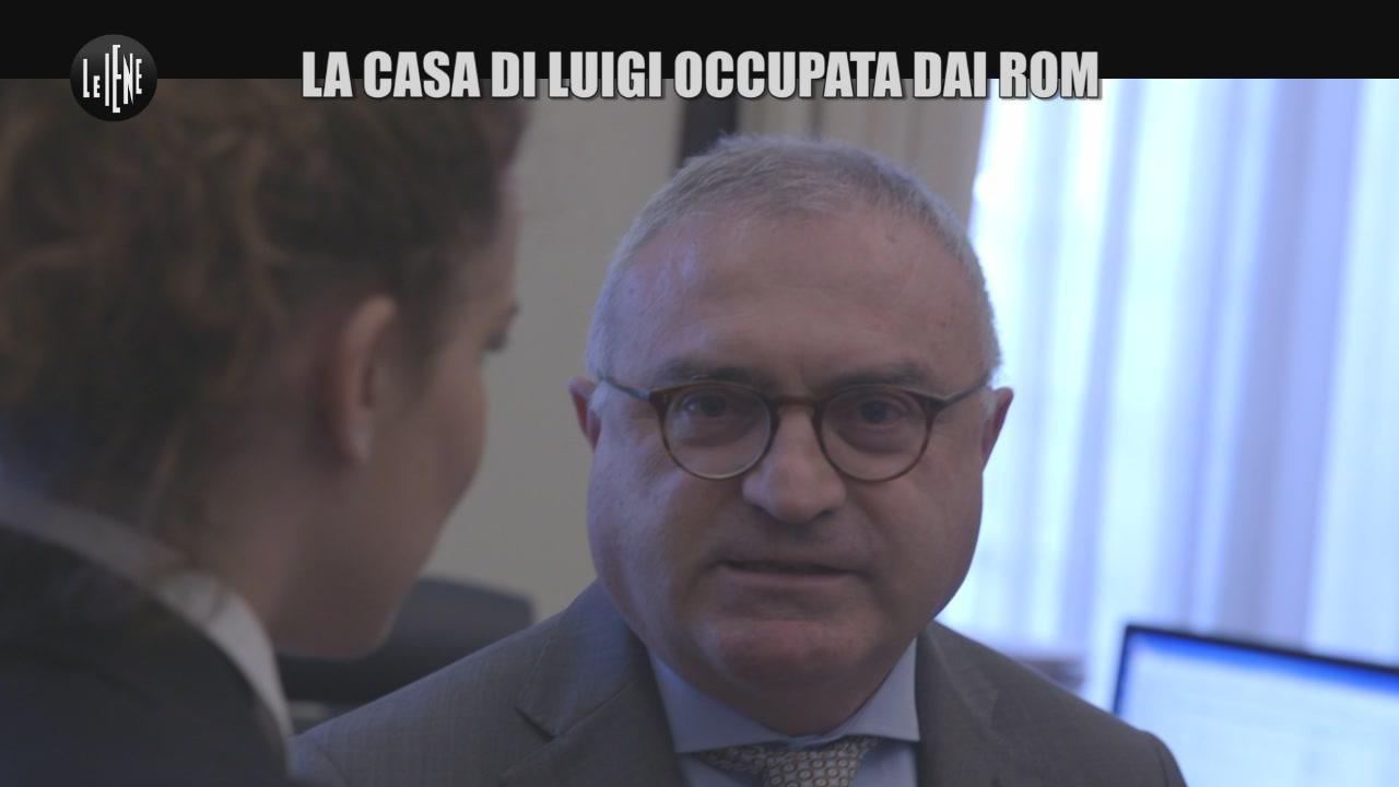 RUGGERI: La casa di Luigi occupata dai Rom