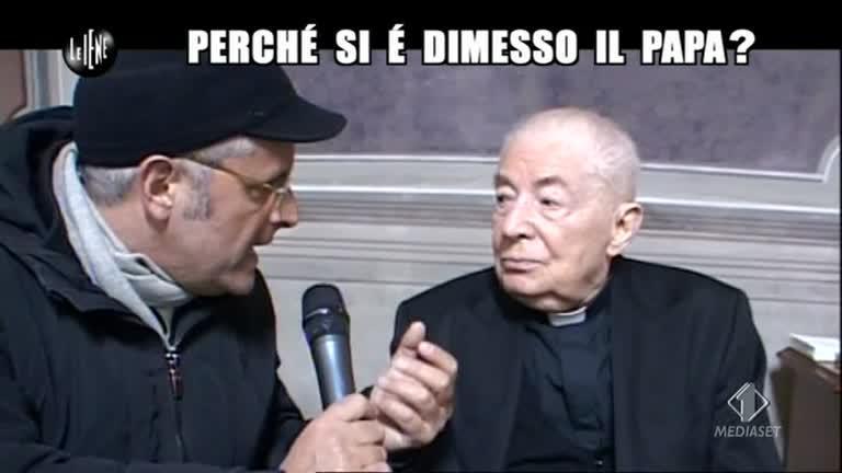 LUCCI: Perché il Papa si è dimesso?