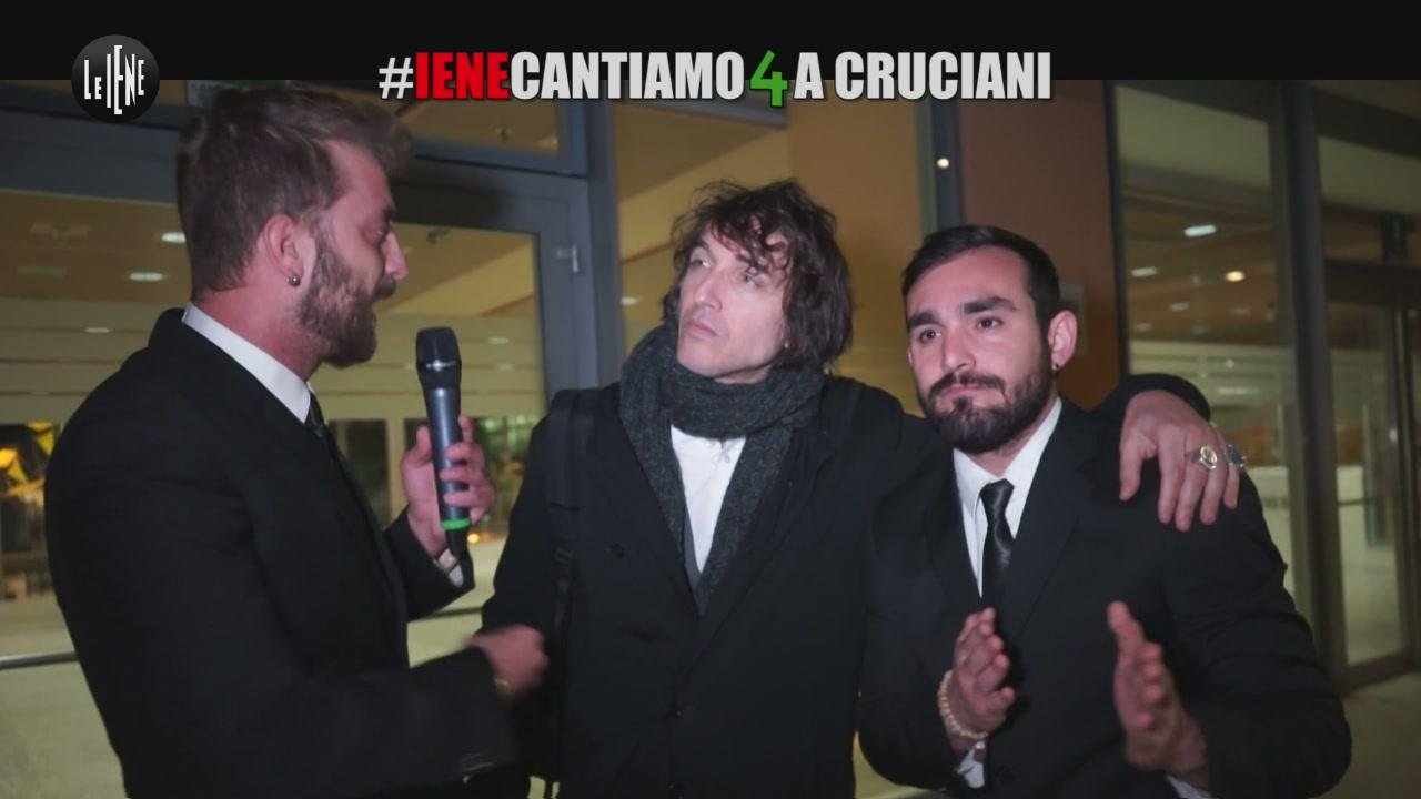 CORTI E ONNIS: #ienecantiamo4a Cruciani