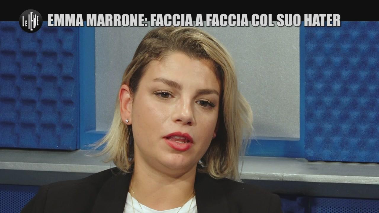SARNATARO: Emma Marrone: faccia a faccia col suo hater