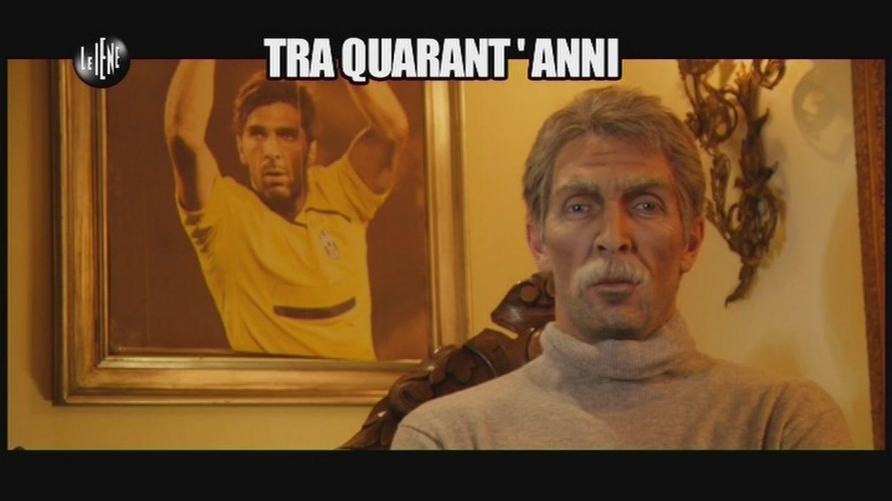 Gigi Buffon tra 40 anni