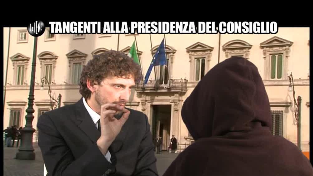 ROMA: Tangenti alla Presidenza del Consiglio