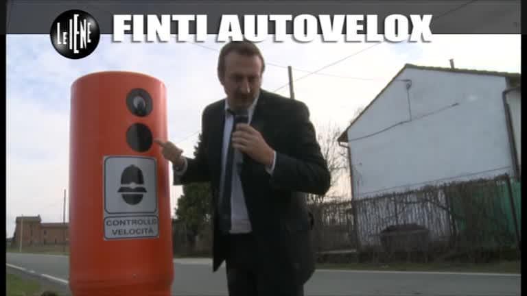 CASCIARI: Finti autovelox