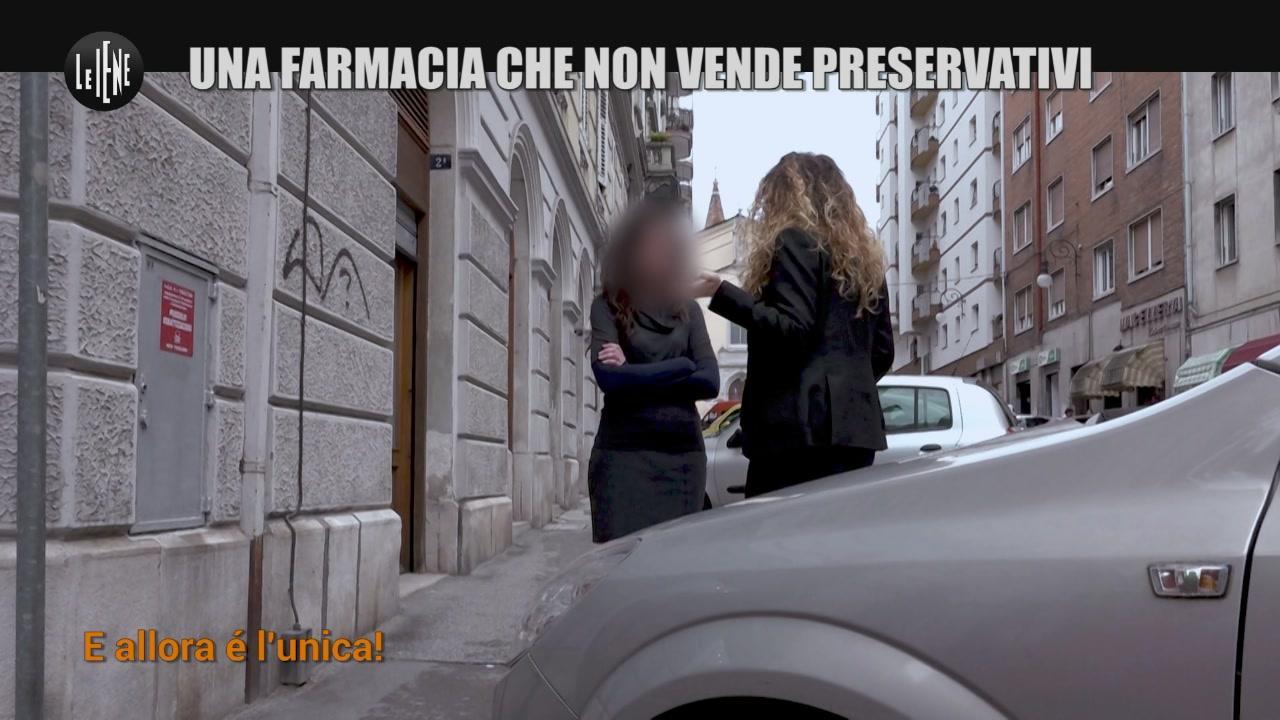 NINA: Una farmacia che non vende preservativi