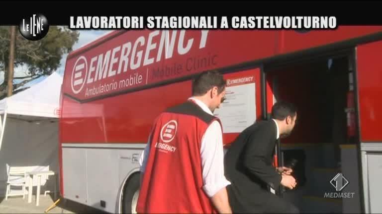 TRINCIA: Le cure gratuite di Emergency