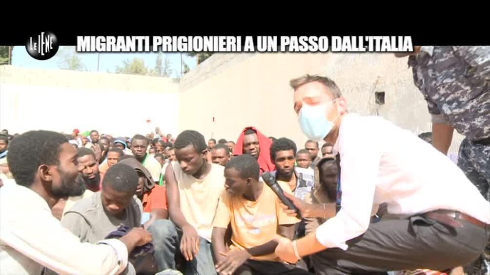MAISANO: Migranti prigionieri a un passo dall'Italia