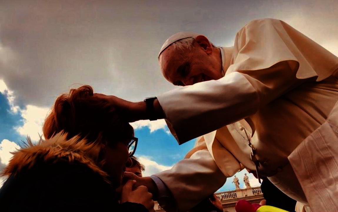 Fak incontra il Papa