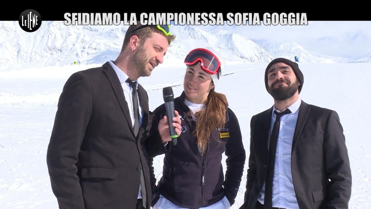 CORTI E ONNIS: La campionessa Sofia Goggia
