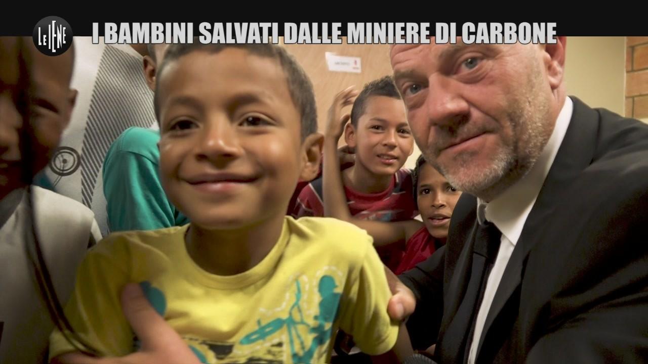 GOLIA: Colombia, i bambini salvati dalle miniere di carbone
