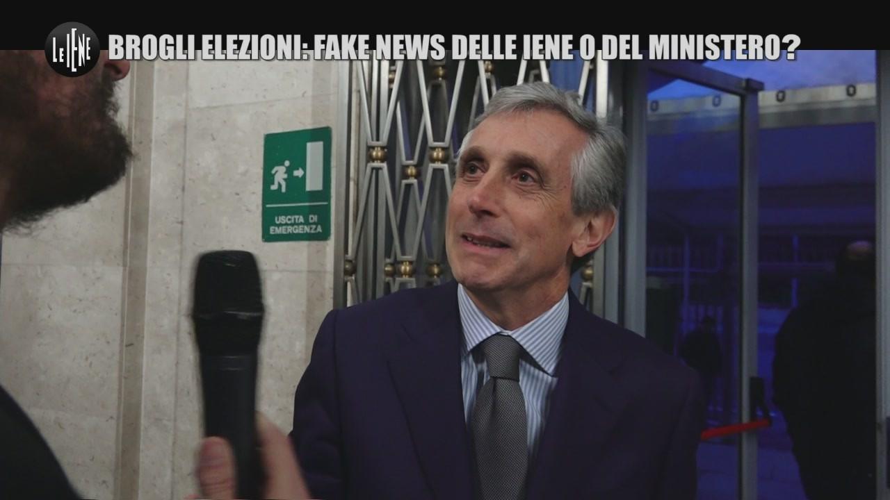 ROMA: Brogli elezioni: Fake news delle Iene o del Ministero?