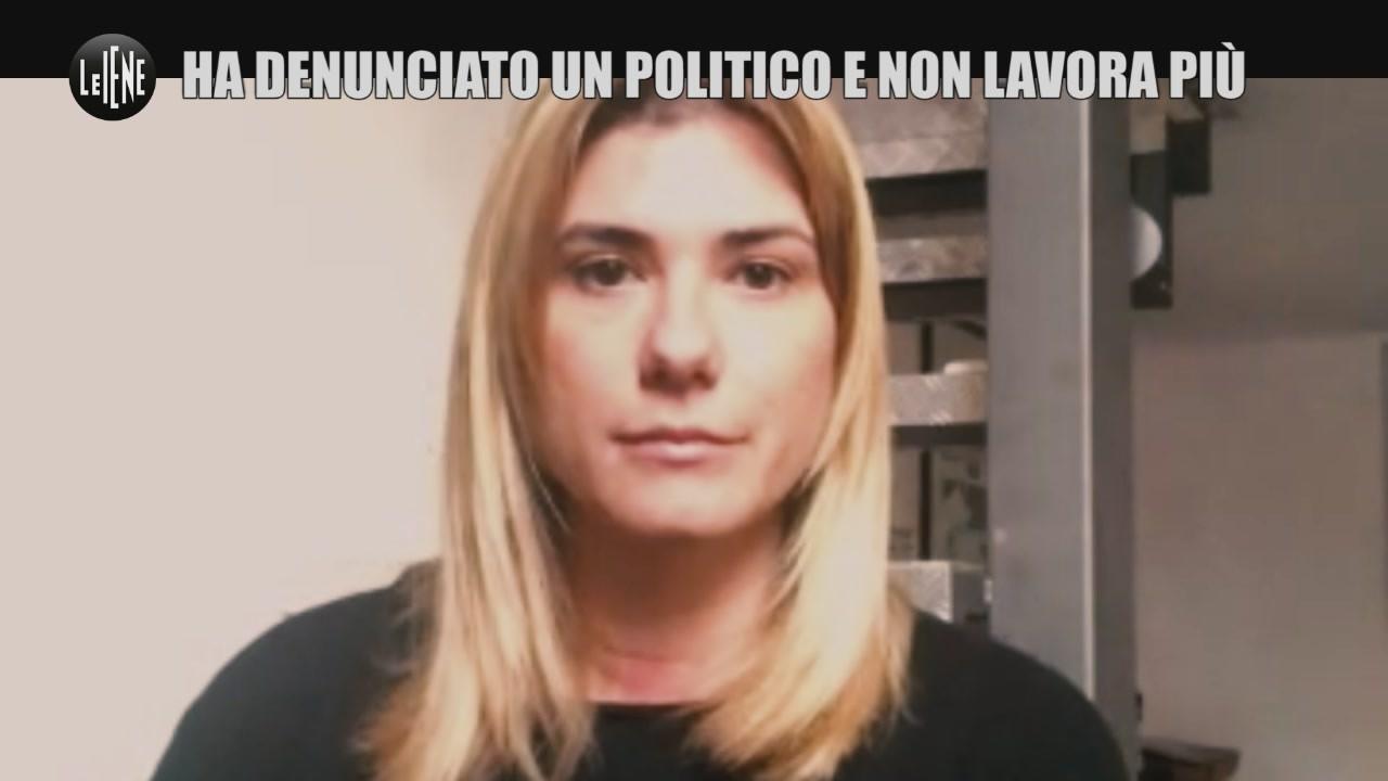 """Federica Brocchetti: """"Ho denunciato un politico, ora non lavoro più"""