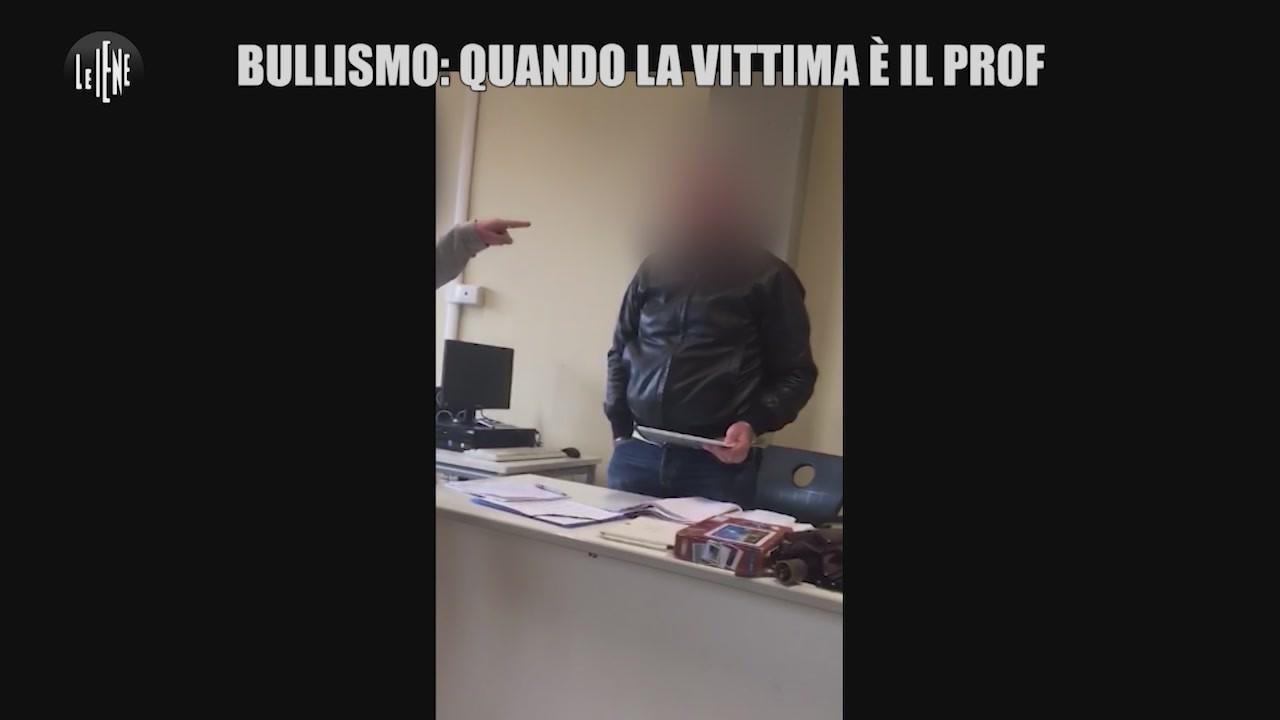 Prof bullizzato, a Le Iene parla lo studente indagato
