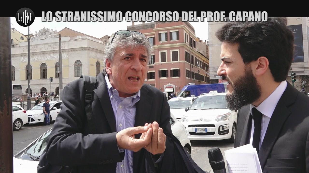 MONTELEONE: Lo stranissimo concorso del prof. Capano