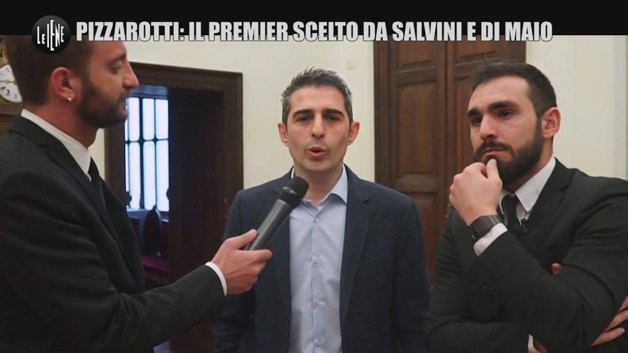 """CORTI E ONNIS: """"Pizzarotti: il premier scelto da Salvini e Di Maio"""""""