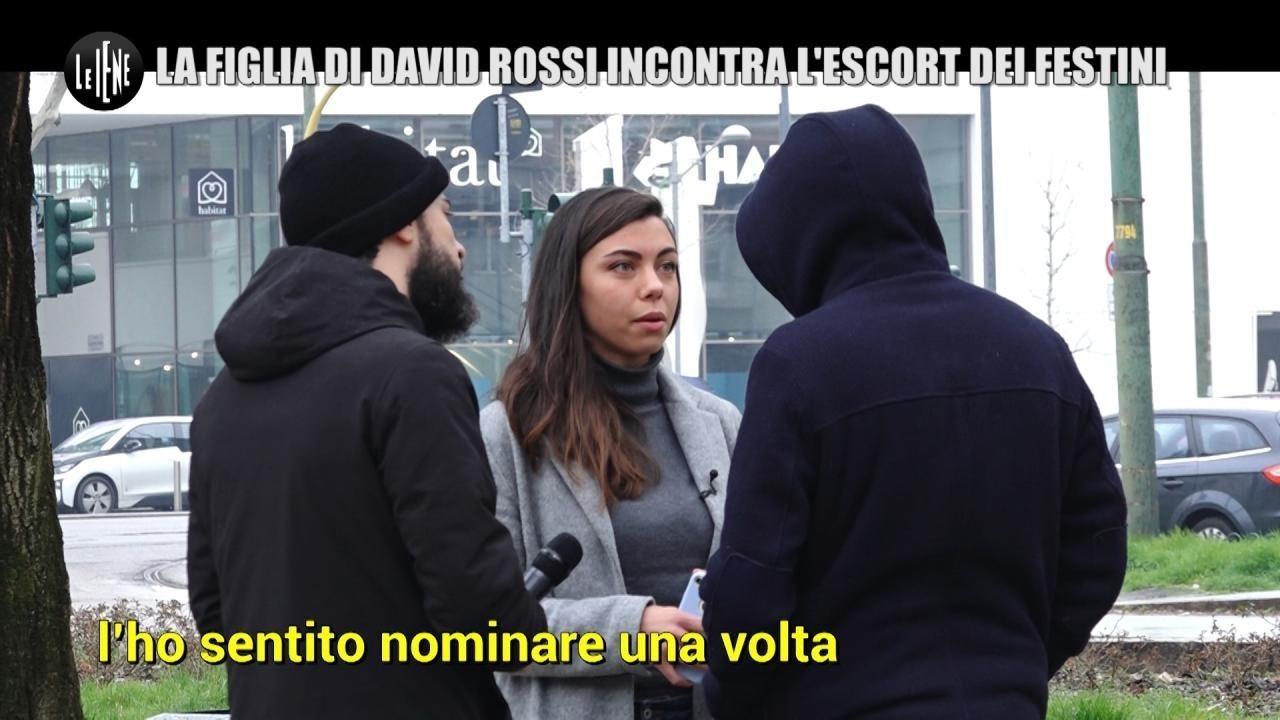 MONTELEONE: La figlia di David Rossi incontra l'escort dei festini