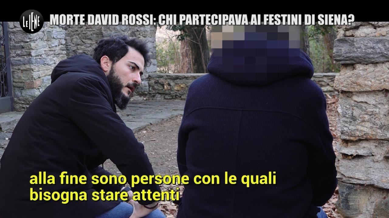 MONTELEONE: Morte David Rossi: io mi prostituivo ai festini di Siena