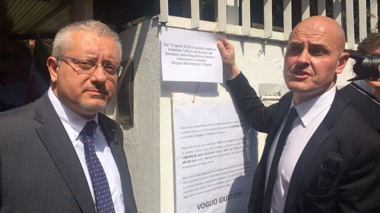 """Presidente del Senato, salvi Sergio Bramini"""