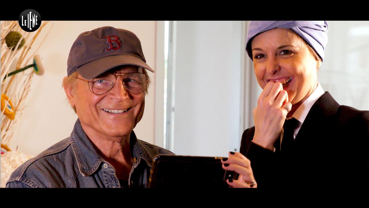 """Terence Hill con Nadia Toffa: """"Bud Spencer, mi sei simpatico"""""""