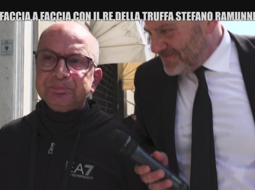 Faccia a faccia con il re della truffa Stefano Ramunni