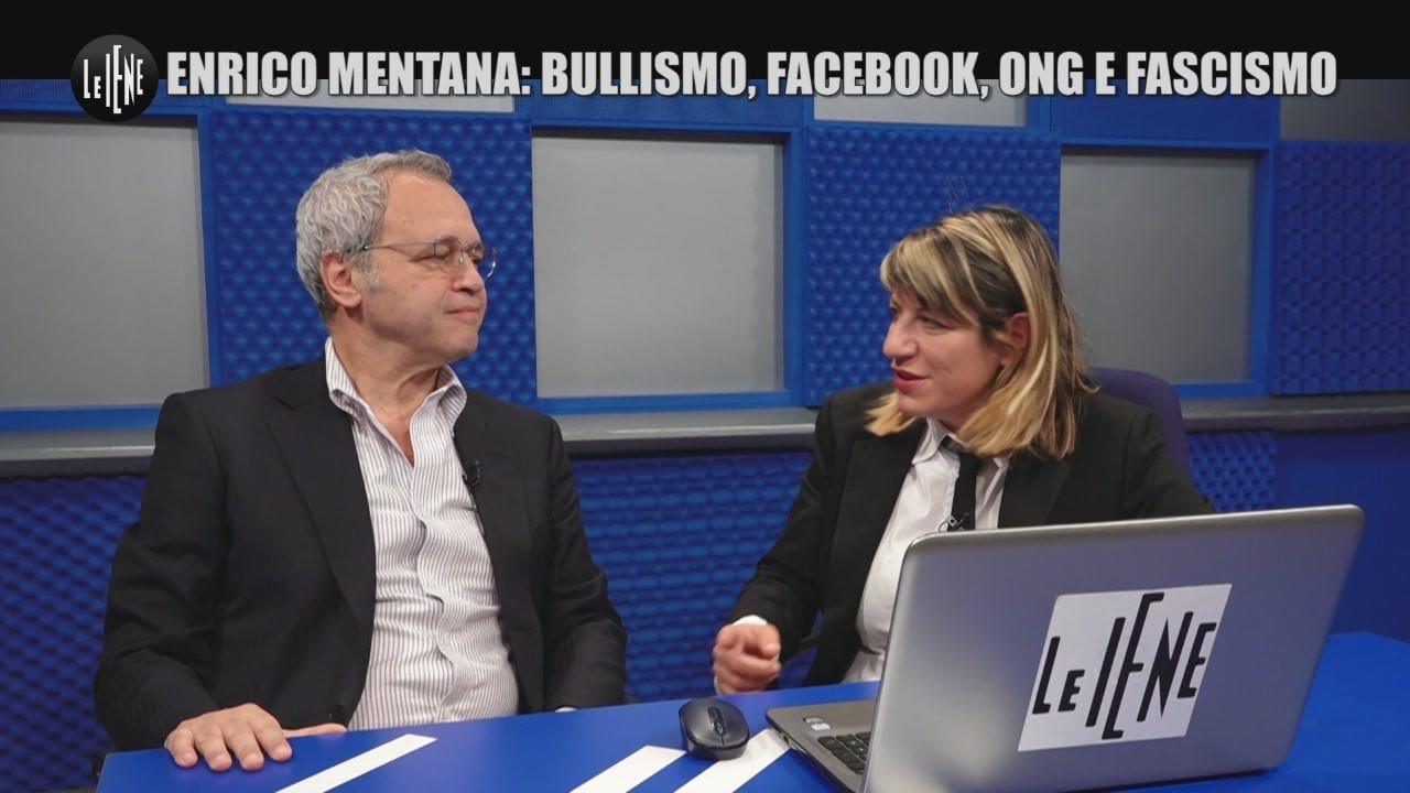 enrico mentana hater bullismo facebook ong fascismo video