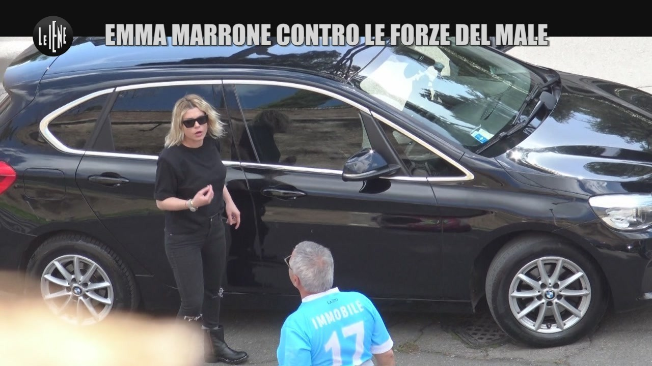 Torielli Emma Marrone scherzo le iene video
