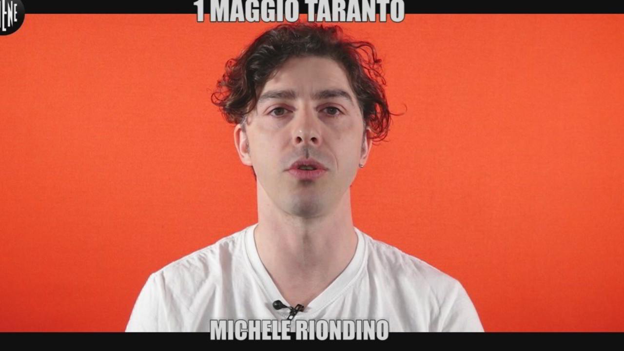 Michele Riondino intervista concerto Uno Maggio Libero e Pensante