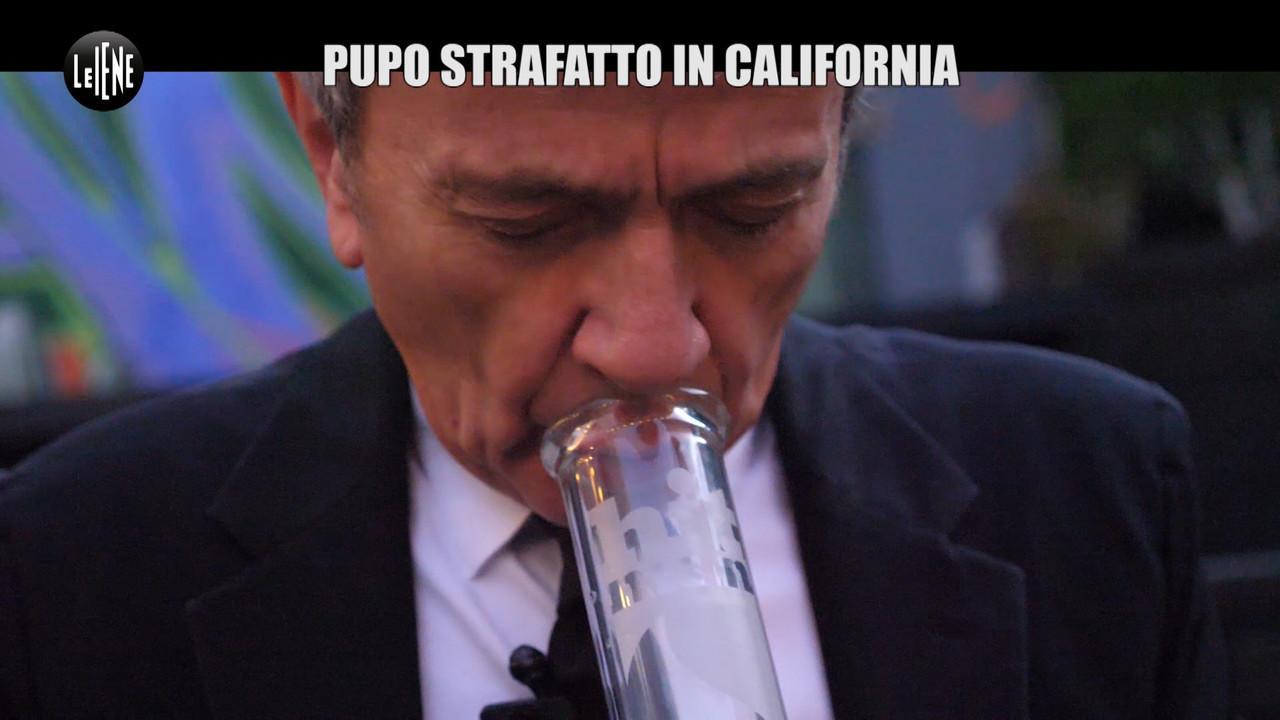 pupo strafatto california fuma bong marijuana