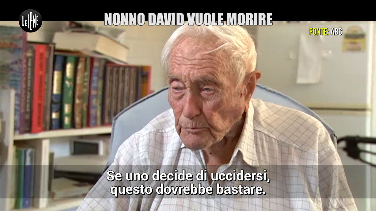 david centenario morire suicidio dottor morte