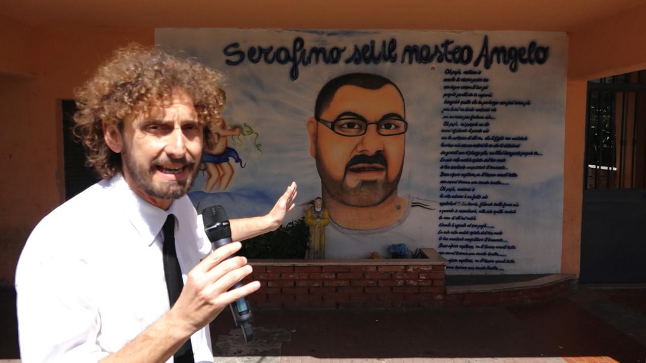 Roma tor bella monaca murales boss cordaro cancella