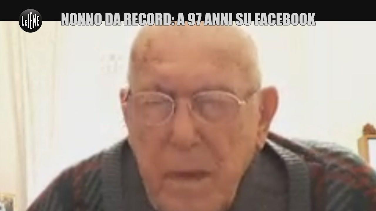 sergio allevi iene nonno record facebook
