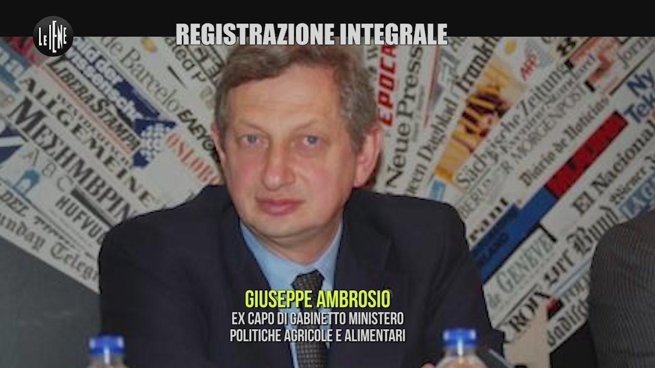 Quote latte Giuseppe Ambrosio Marco Mantile registrazione integrale audio
