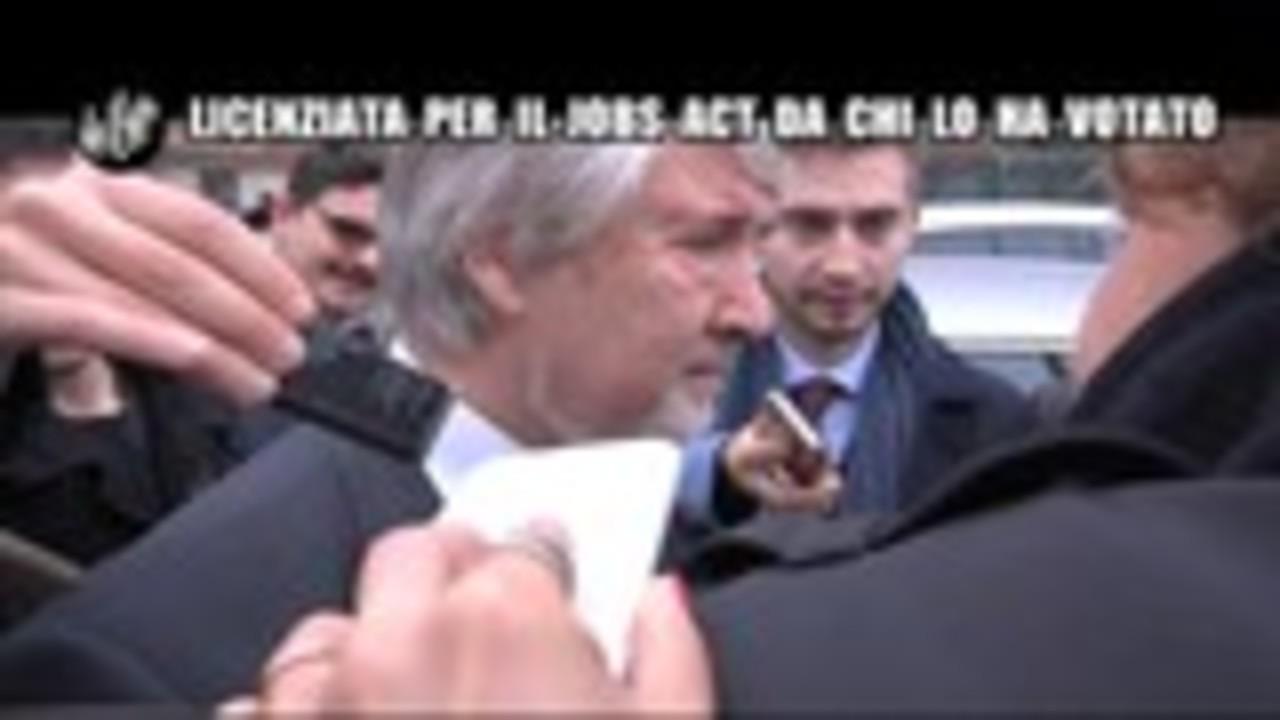 ROMA: Licenziata per il Jobs Act da chi lo ha votato