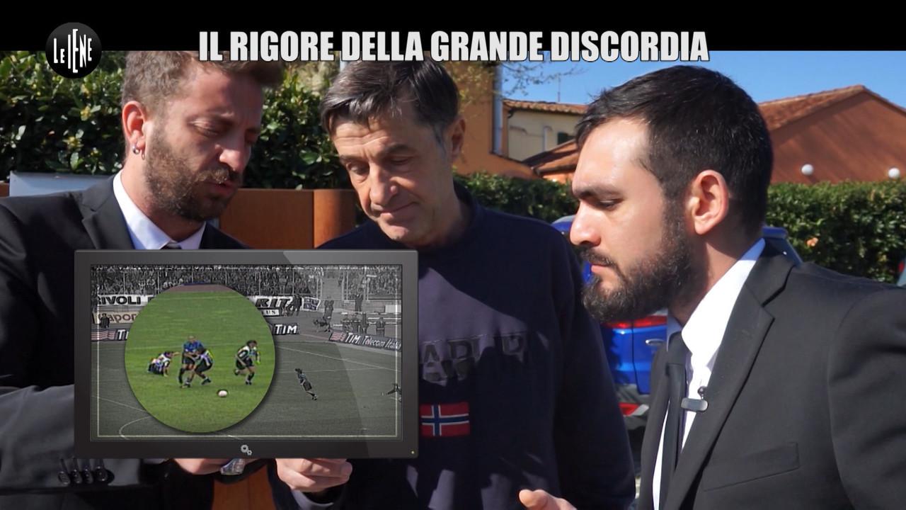 CORTI ONNIS Juventus Inter Ronaldo rigore Ceccarini