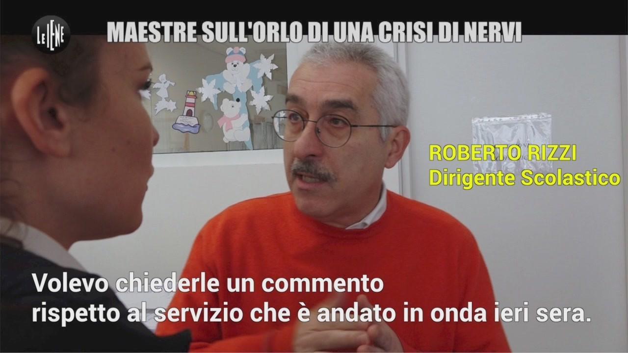 Bambini maltrattati: la telefonata al dirigente scolastico Roberto Rizzi