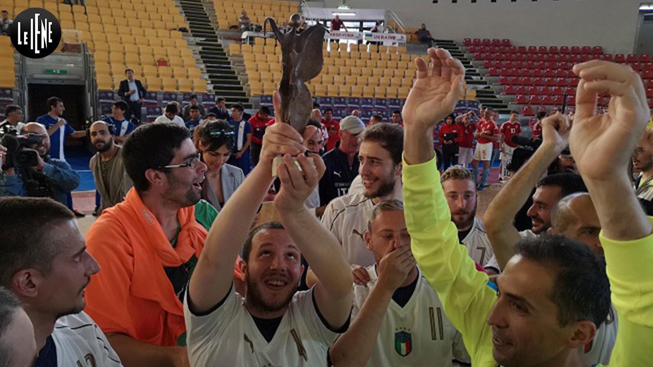 Mondiali di calcio a 5 per pazienti psichiatrici: vincono gli Azzurri!