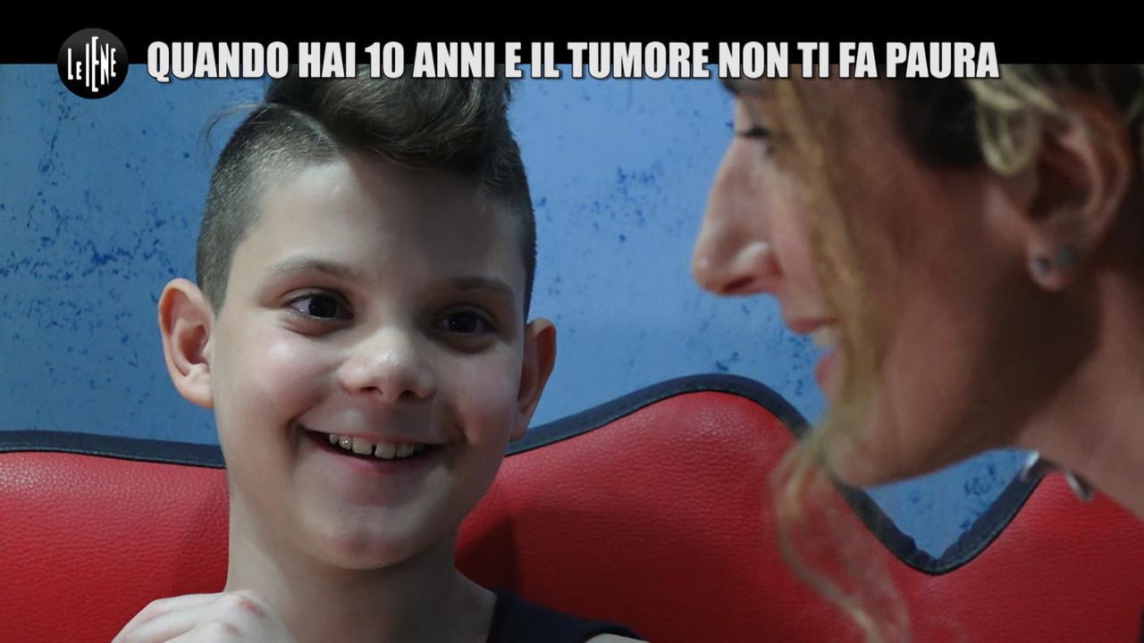 NINA: Daniel, quando hai 10 anni e il tuo tumore non ti fa paura