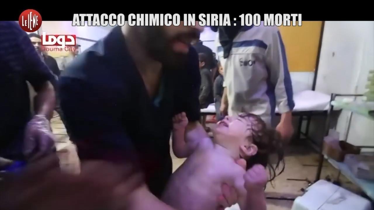 Attacco chimico in Siria: 100 morti