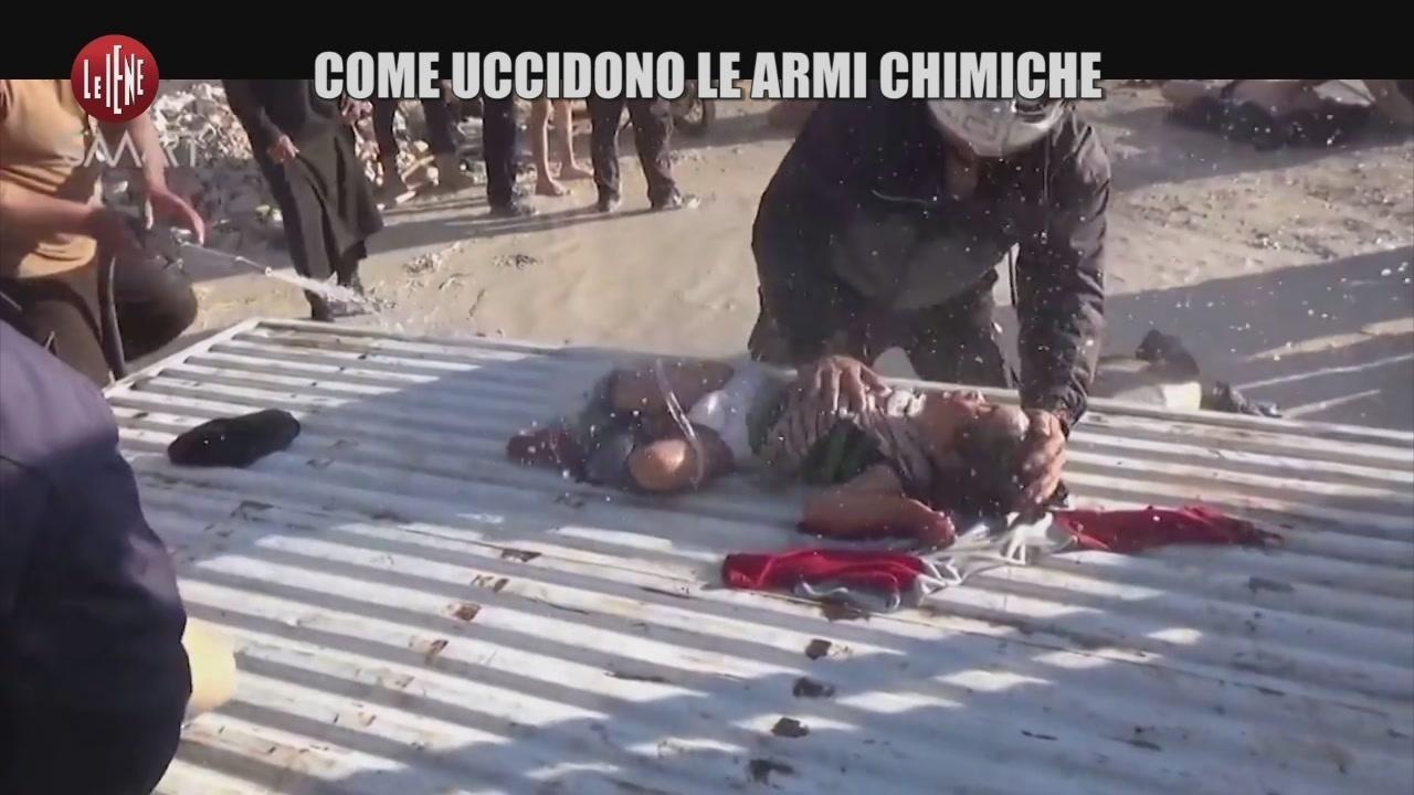 Come uccidono le armi chimiche