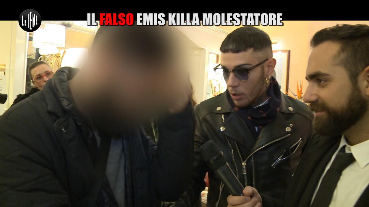 ROSSI: Il falso Emis Killa molestatore