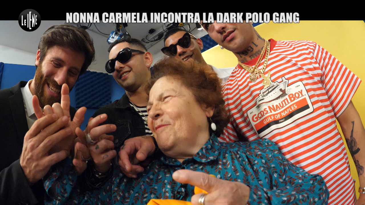 dark polo gang intervista nonna carmela