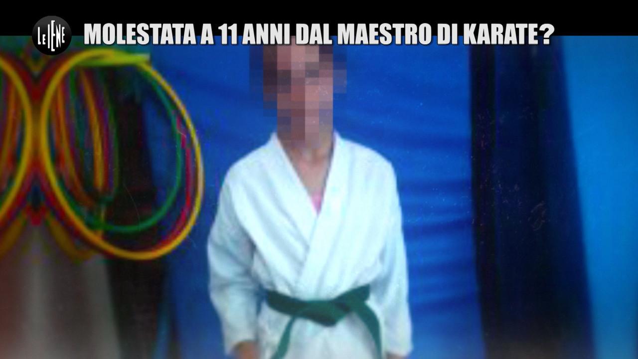 """NINA: Pedofilia: """"Io, molestata a 11 anni dal maestro di karate"""""""