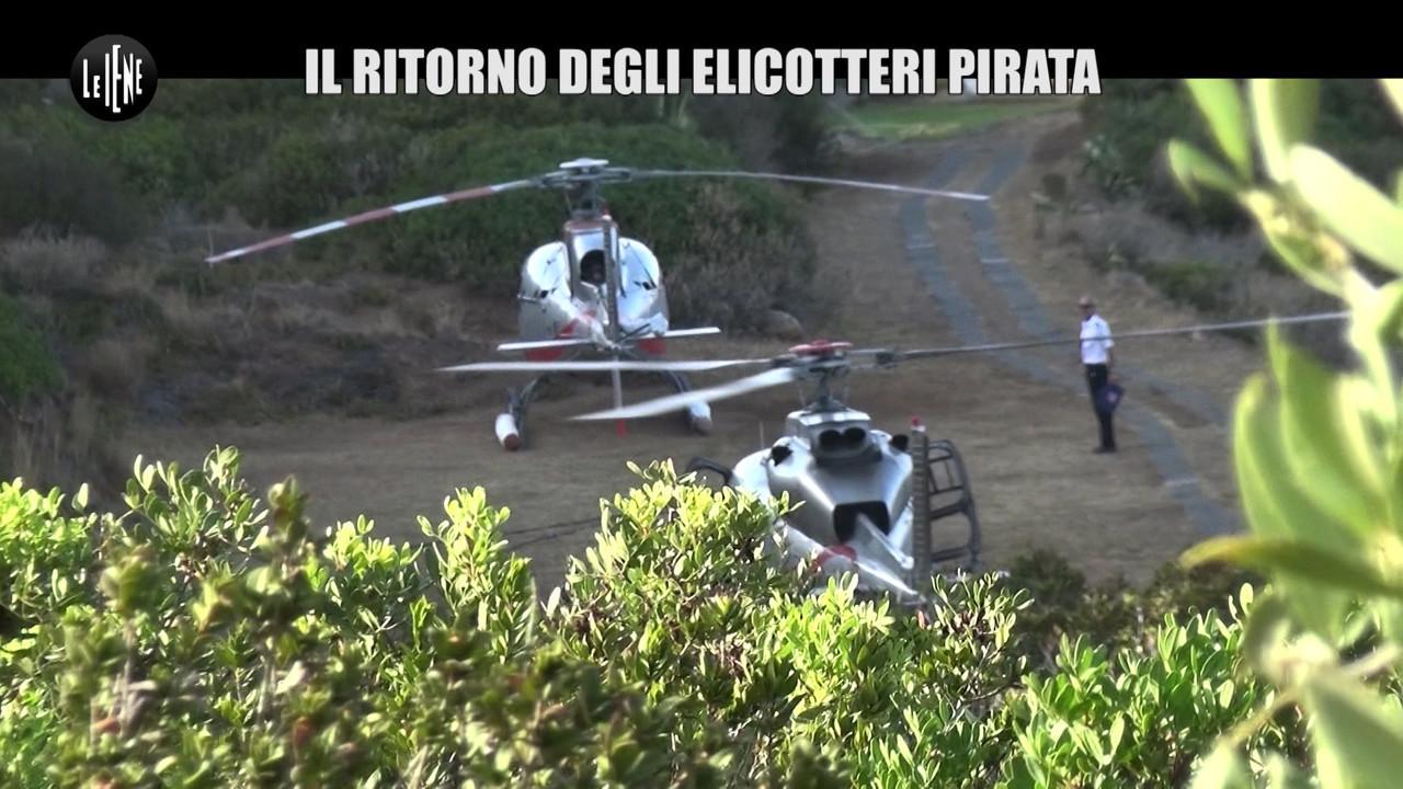 RUGGERI: Eolie, il ritorno degli elicotteri pirata