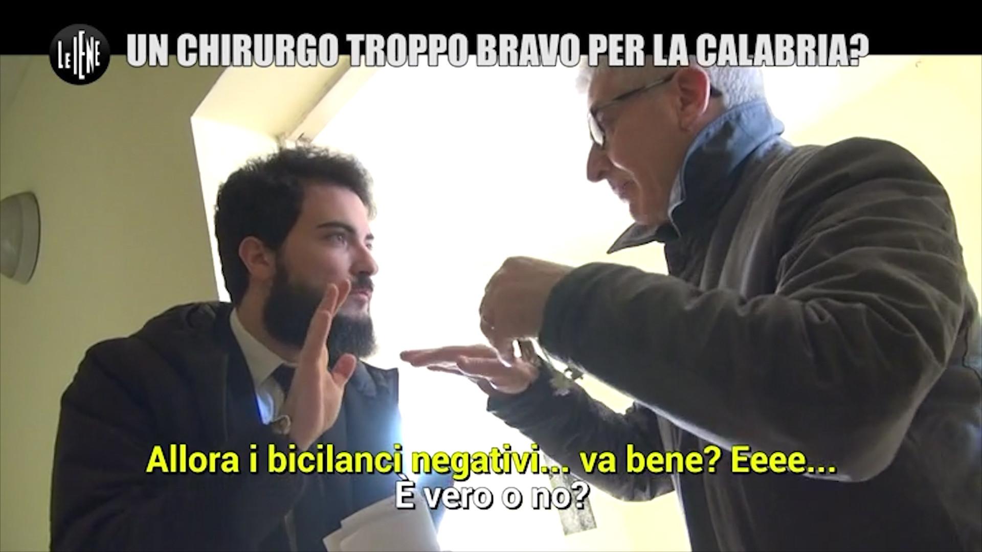 Il caso di Giuseppe Brisinda: le foto
