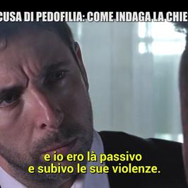 pedofilia nella Chiesa incontro Diego vittima Papa Francesco