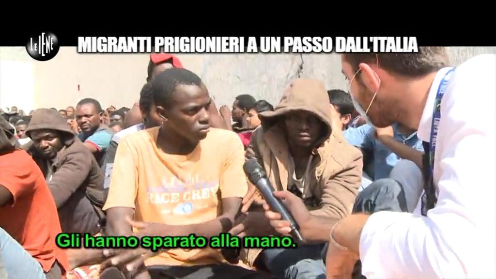 Come vivono i migranti prigionieri nelle carceri in Libia