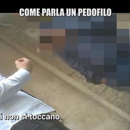 pedopornografia pedofilia michele arrestato Roma dopo inchiesta Iene foto video bambine